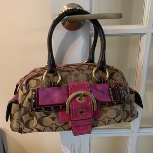 Coach Limited Edition Rare Satchel